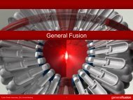Update on Progress at General Fusion