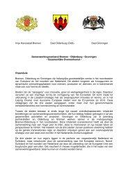 Vereinbarung GR-HB-OL 2009-05-07 NL