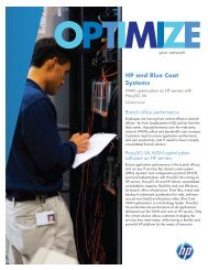 HP and Blue Coat Systems - Application Transformation Solutions ...