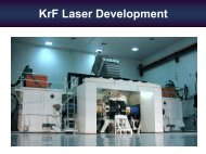 KrF Laser Development