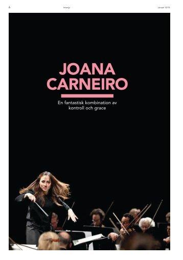 Joana Carneiro gästar Berwaldhallen (pdf) - Sveriges Radio