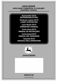 W2. - Operator's Manual - John Deere