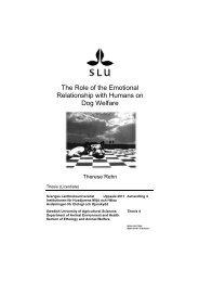 PDF (Licentiate thesis Therese Rehn) - SLU