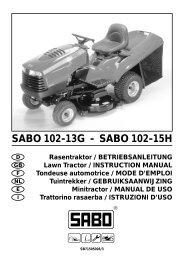 CG u&m TC2 03/JB - DE - Operator's Manual