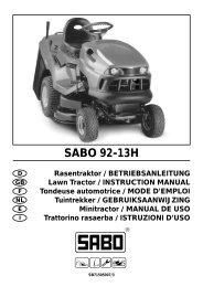 CG u&m J92 04/J - DE - Operator's Manual