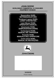 2. - Operator's Manual - John Deere