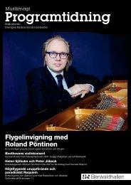 Programtidning Februari 2010 (pdf) - Sveriges Radio