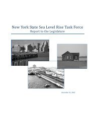 Sea Level Rise Task Force Final Report - New York State ...