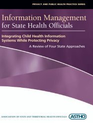 Integrating Child Health Information Systems While Protecting Privacy