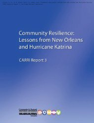 Community Resilience: Lessons From New Orleans and Hurricane ...