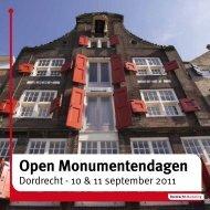 Open Monumentendagen - Gemeente Dordrecht