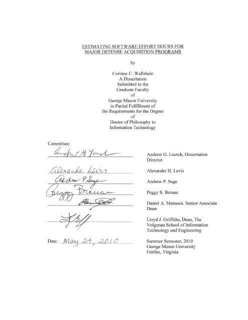 UDTS Resources | University Libraries, George Mason University