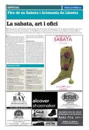 La sabata, art i ofici - Diario de Mallorca