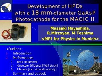 Development of HPDs with a 18-mm-diameter GaAsP - NDIP 11