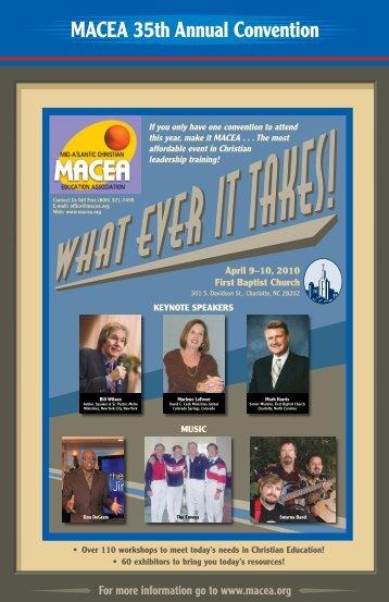 MACEA 35th Annual Convention