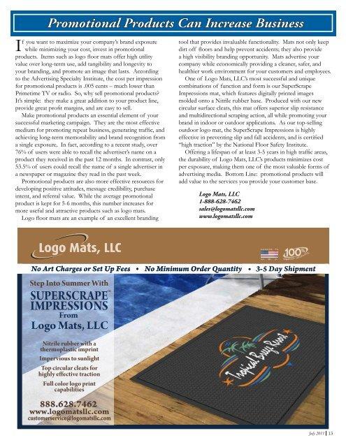 July 2011 Volume 2, Issue 3