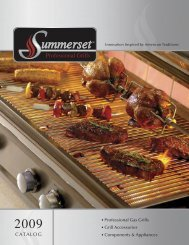 Summerset Quality Brand Products.