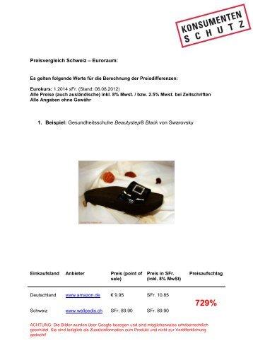 Beispiel 1: Firmengründung und Produkteinführung - Stefanie Wendl