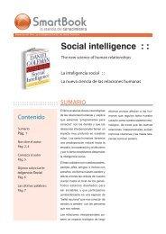 Inteligencia Social de Daniel Goleman.