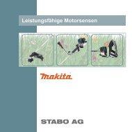 Leistungsfähige Motorsensen STABO AG - Sabo