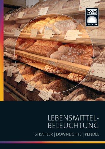 RZB Sonderblatt Lebensmittelbeleuchtung