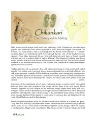 Chikankari - The History and Its Making - Chikan Embroidery