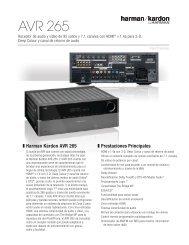 AVR 265 - Harman Kardon