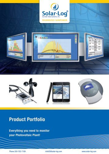Product Portfolio - Krannich Solar