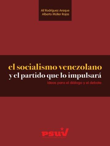 el socialismo venezolano - Juventud PSUV