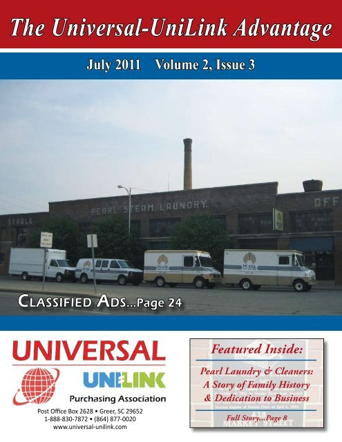 July 2011 Volume 2, Issue 3