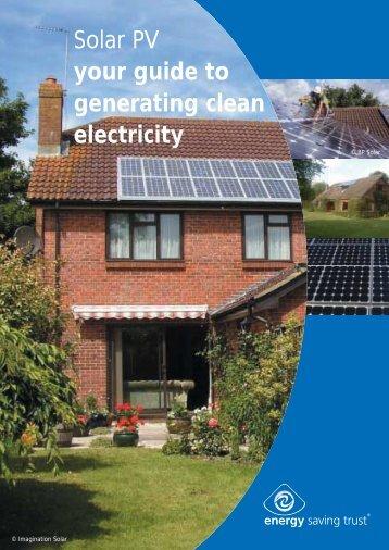 Solar PV Installation Guide - whatyoucando.co.uk