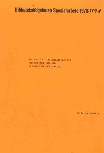 1978 nr 179.pdf - BADA - Högskolan i Borås