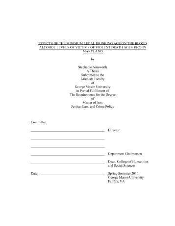 gmu dissertation thesis Your name a  dissertation submitted to the graduate faculty of george mason university in  partial.