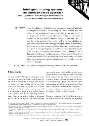 intelligent tutoring system thesis Towards an intelligent tutoring system with application to sexually transmitted diseases  based on chao cheng shi's thesis (1991) 78 towards an intelligent.