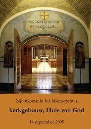 kerkgebouw, Huis van God - Bisdom Breda