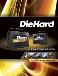 DieHard Passenger Car & Light Truck - Sears