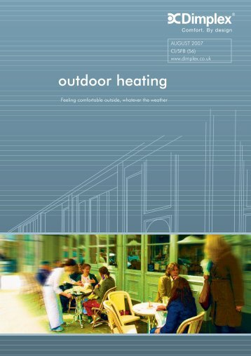 outdoor heating - Dimplex