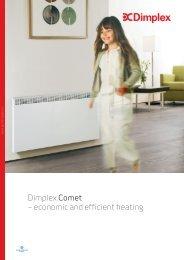 Dimplex Comet – economic and efficient heating - Sieline