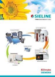 Κατάλογος Προϊόντων SIELINE 2011-2012