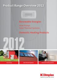 download PDF file - Dimplex