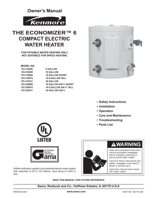 the economizer™ 6 compact electric water heater - Sears on water heater installation diagram, ge water heater diagram, electric water heater design diagram, hot water heater diagram, electric water boiler, electric water heater wiring requirements, electric water heater thermostat, electric water wires, electric hot water tank wiring, water heater wire diagram, whirlpool electric water heater diagram, electric hot water heater wiring, heat pump water heater diagram, electric water heaters product, electric water heater anode rod, electric water heater troubleshooting, electric water heater elements, 240 circuit diagram, electric water heater pipe diagram, water tank wiring diagram,