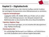 Kapitel 3 - Digitaltechnik (bitte ausdrucken und mitbringen!)