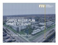 Focus Group 3 Meetings Slides - FIU Facilities Management ...