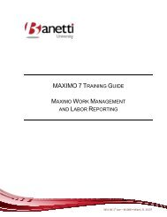 Maximo 7 Work Management - PM - Labor Reporting - FIU Facilities ...