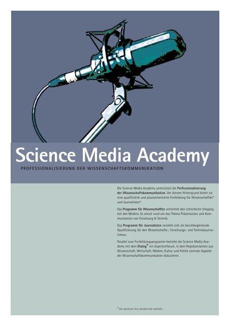 Science Media Academy