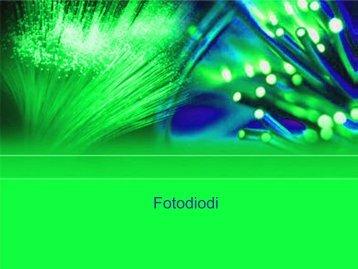 Fotodiodi (1/2) - InfoCom