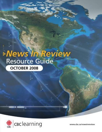 Resource guide - News in review - CBC Learning