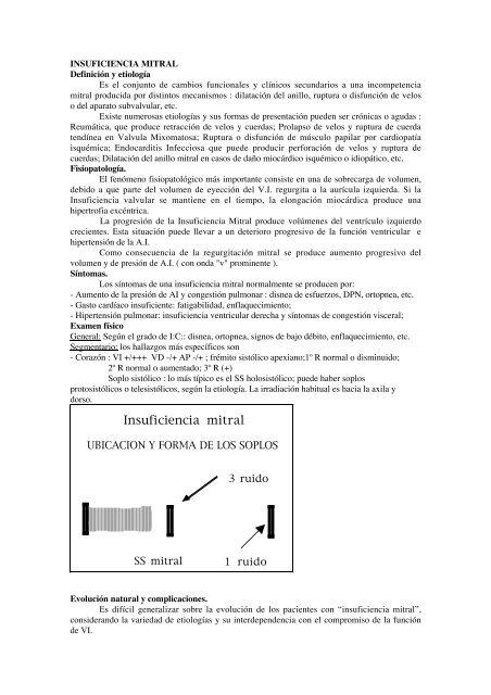 Complicaciones de la valvuloplastia mitral de la hipertensión