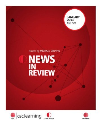 JANUARY 2013 - News in review - CBC Learning