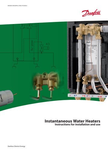 Instantaneous Water Heaters - Danfoss Heating for consumers